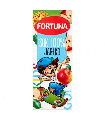 Fortuna Jabłko Sok 100% 200 ml