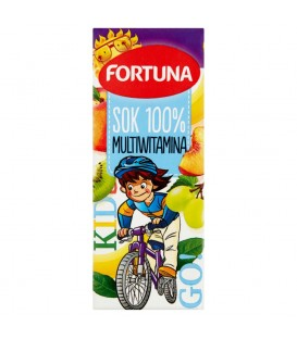 Fortuna Multiwitamina Sok 100% 200 ml