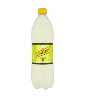 Schweppes Lemon Napój gazowany o smaku cytrusowym 1 l