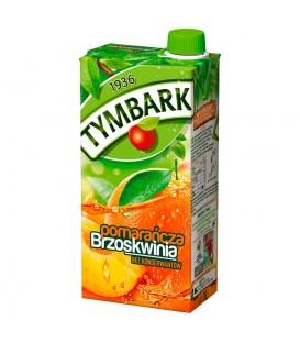 Tymbark Pomarańcza brzoskwinia napój 1 l