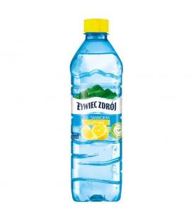 ŻYWIEC ZDRÓJ SMAKO-ŁYK o smaku cytrynowym 0,5 litra – napój niegazowany  12 x 500ml
