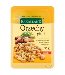 Bakalland Orzechy pinii 75 g