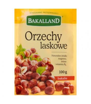 Bakalland Orzechy laskowe 100 g