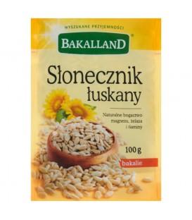Bakalland Słonecznik łuskany 100 g