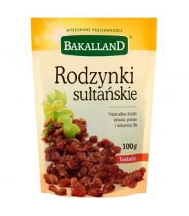 Bakalland Rodzynki sułtańskie 100 g