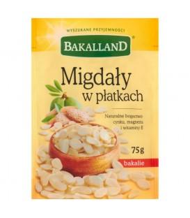 Bakalland Migdały w płatkach 75 g