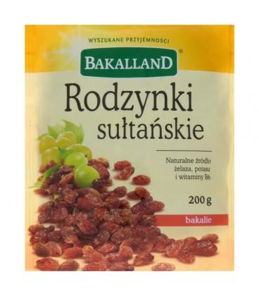 Bakalland Rodzynki sułtańskie 200 g