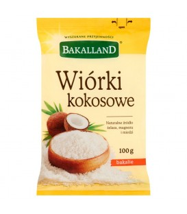 Bakalland Wiórki kokosowe 100 g