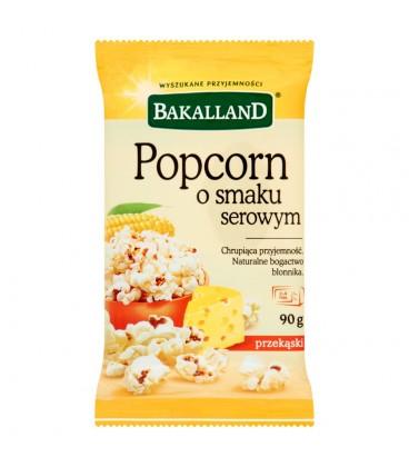 Bakalland Popcorn o smaku serowym 90 g
