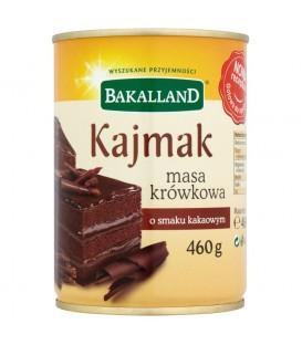 Bakalland Kajmak masa krówkowa o smaku kakaowym 460 g