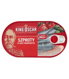 King Oscar Szproty w sosie pomidorowym 170 g