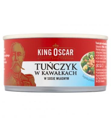 King Oscar Tuńczyk w kawałkach w sosie własnym 170 g