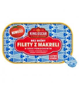 Filety z makreli w sosie pomidorowym 110g