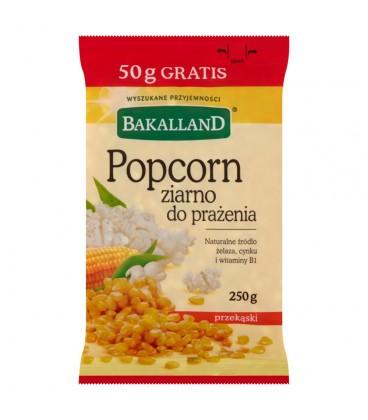 Bakalland Popcorn ziarno do prażenia 250 g