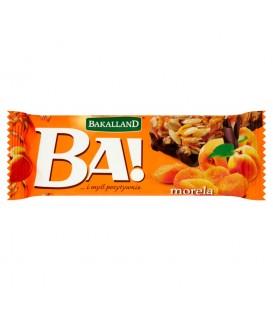 Bakalland Ba! morela Baton zbożowy 40 g