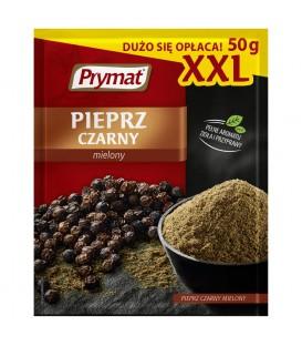 Prymat Pieprz czarny mielony XXL 50 g