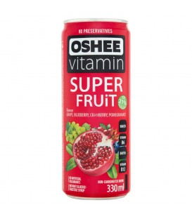 Vitamin Fruit Red 330ml