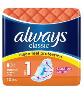 Always Classic Normal Single 10szt