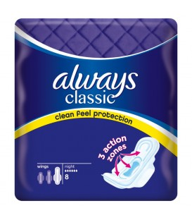 Always Classic Night Single 8szt