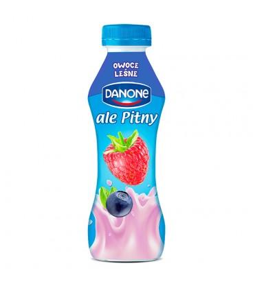 Danone ale Pitny Owoce leśne Napój jogurtowy 290 g