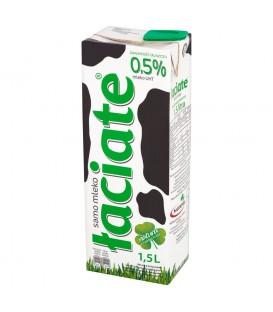 Mleko uht łaciate 0,5% 1,5l