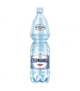 Cisowianka Naturalna woda mineralna gazowana niskosodowa 1,5 l