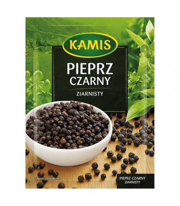 Kamis Pieprz czarny ziarnisty 20 g