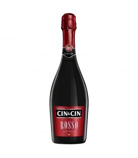 Cin&Cin Rosso Wino czerwone półsłodkie musujące 750 ml