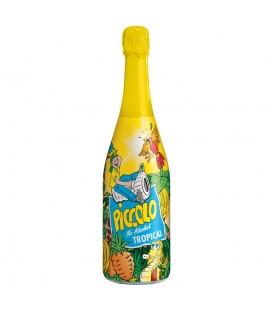 Piccolo Tropical Napój bezalkoholowy gazowany o smaku owoców tropikalnych 750 ml