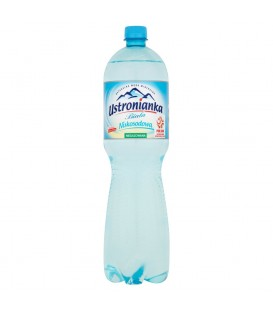 USTRONIANKA WODA MINERALNA 1,5L N/GAZ