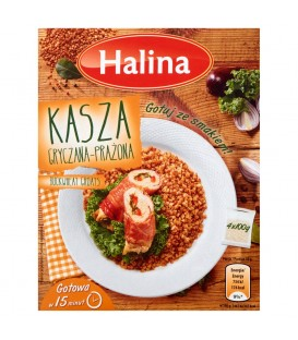 Halina Kasza gryczana prażona 400 g (4 torebki)