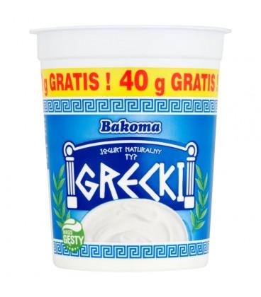 Bakoma Jogurt naturalny typ grecki 440 g