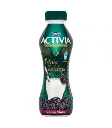 Danone Activia Letnia Kolekcja Suszona śliwka Jogurt 300 g