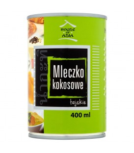 House of Asia Mleczko kokosowe tajskie 400 ml