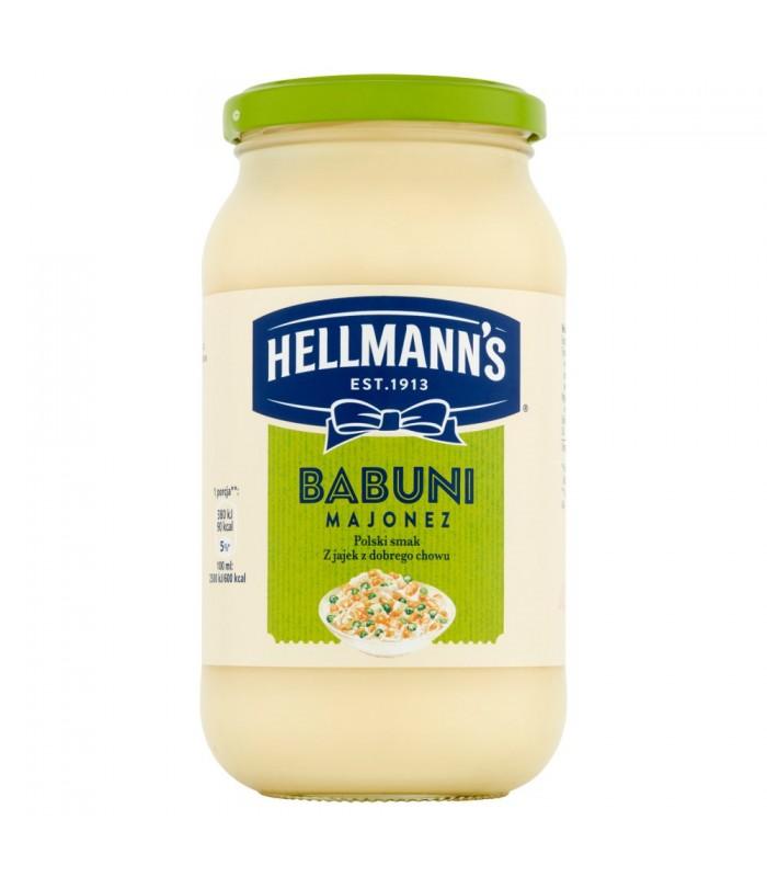 Hellmanns Babuni Majonez 420 Ml