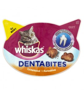 Whiskas Dentabites z kurczakiem Karma uzupełniająca 40 g