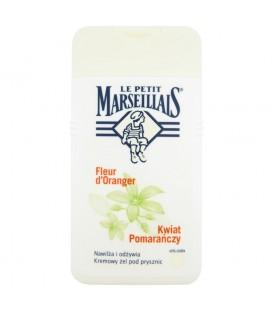 J&J Le Petit Marseillais żel pod prysznic kwiat pomarańczy 250 ml