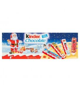 Kinder Chocolate Batoniki z mlecznej czekolady z nadzieniem mlecznym 150 g (12 batoników)