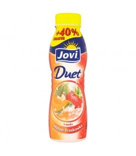 Jovi Duet Napój jogurtowy o smaku melon-truskawka 350 g