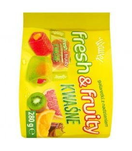 Galaretki Fresh&Fruity KWAŚNE  280g