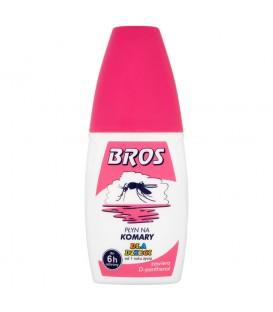 Bros Płyn na komary dla dzieci od 1 roku życia 50 ml