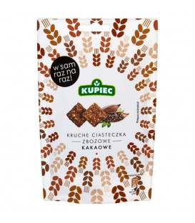 Kupiec Kruche ciasteczka zbożowe kakaowe 50 g