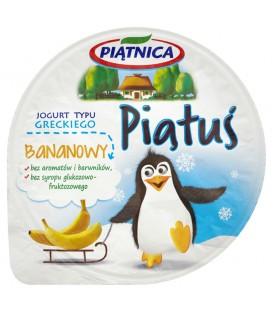 Jogurt Piątuś bananowy 125g