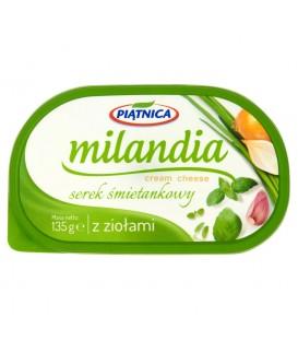 Serek Śmietankowy Milandia z ziołami 135g