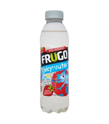 Frugo Juicy Water Strawberry Górska woda z sokiem 500 ml