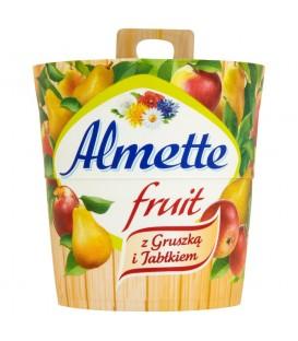 Almette Fruit z gruszką i jabłkiem Puszysty serek twarogowy 150 g