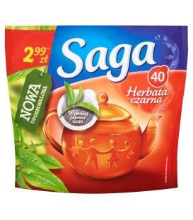 Saga Herbata czarna 48 g (40 torebek)