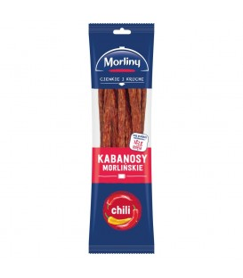 Morliny Kabanosy morlińskie chili 105 g