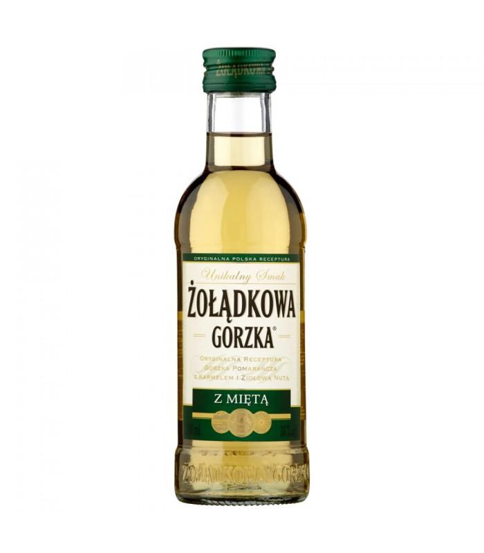 6b7160e96bf01c Żołądkowa Gorzka z miętą Likier 200 ml - Apimarket.pl - zakupy ...