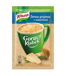 Knorr Gorący Kubek Serowo-grzybowa z makaronem 17 g